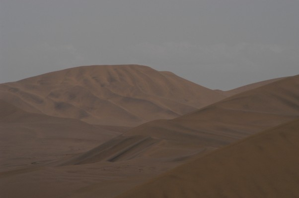 Sand Dunes at Dunhuang