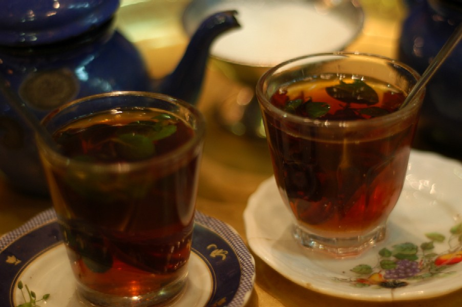 Tea in Khan el Khalili