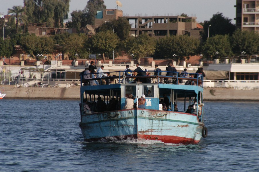 Nile Ferry, Luxor, Egypt