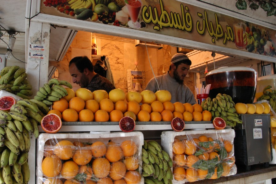 Juice Vendor, Amman, Jordan