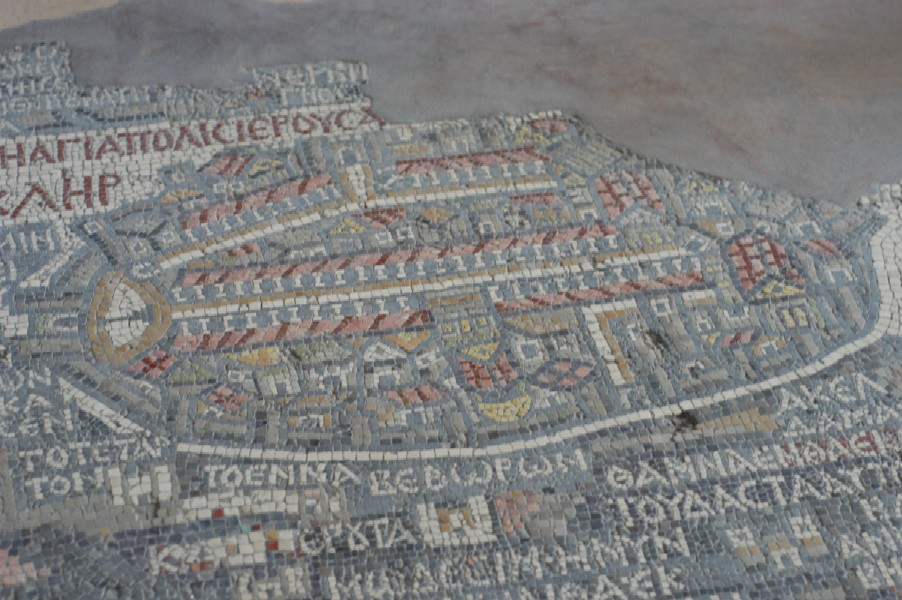 Church of the Map, Madaba, Jordan