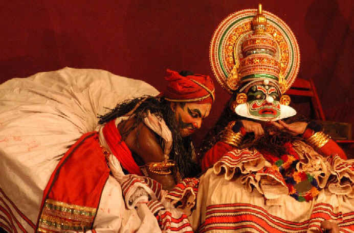 Kathakali Performance, Kerela, India